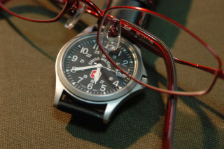 watch and glasses